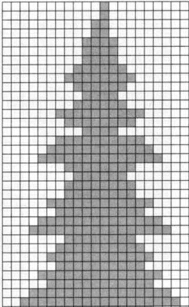 Красивые узоры спицами в технике Жаккард: схемы вязания vyazanie zhakkardovyh uzorov spicami 60 1
