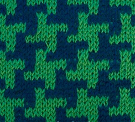 Красивые узоры спицами в технике Жаккард: схемы вязания vyazanie zhakkardovyh uzorov spicami 7 1