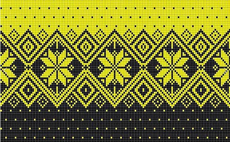 Красивые узоры спицами в технике Жаккард: схемы вязания vyazanie zhakkardovyh uzorov spicami 87 1