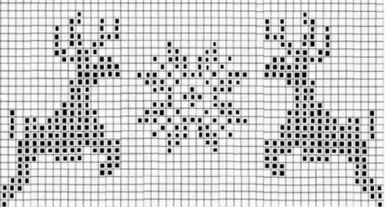 Красивые узоры спицами в технике Жаккард: схемы вязания vyazanie zhakkardovyh uzorov spicami 96 1