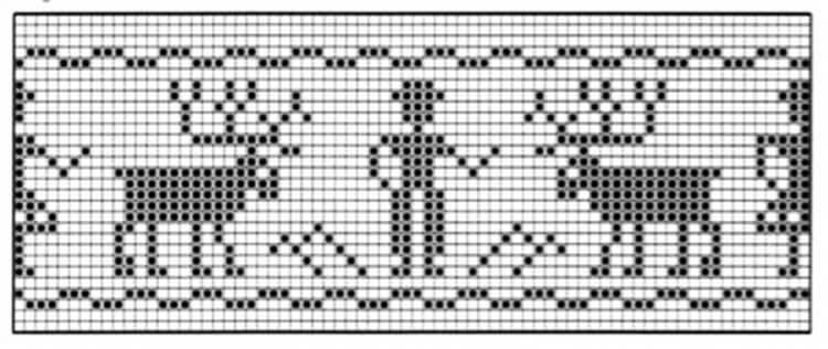 Красивые узоры спицами в технике Жаккард: схемы вязания vyazanie zhakkardovyh uzorov spicami 97 1